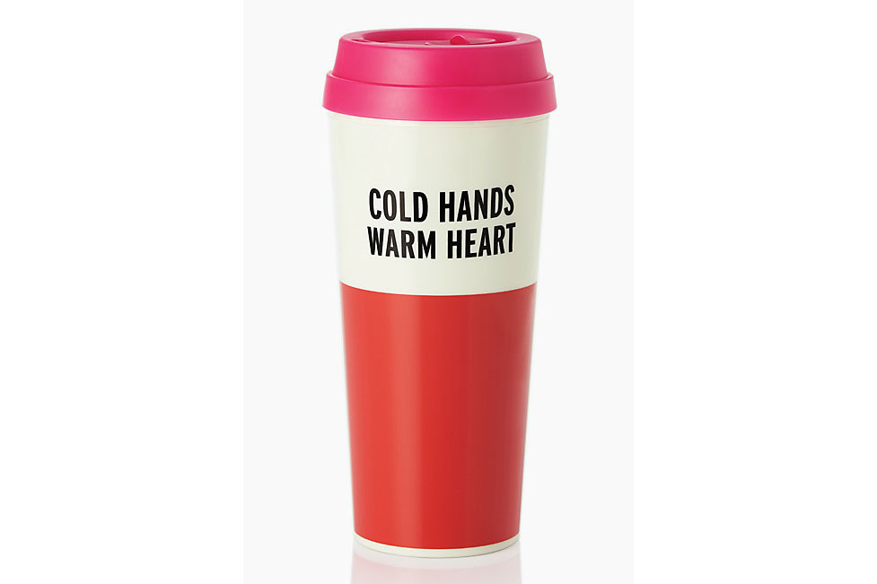 Warm Heart Thermal Mug