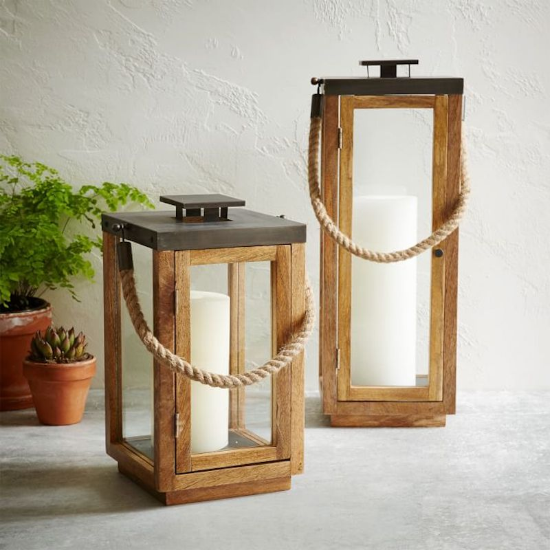 Rope and Wood Lanterns