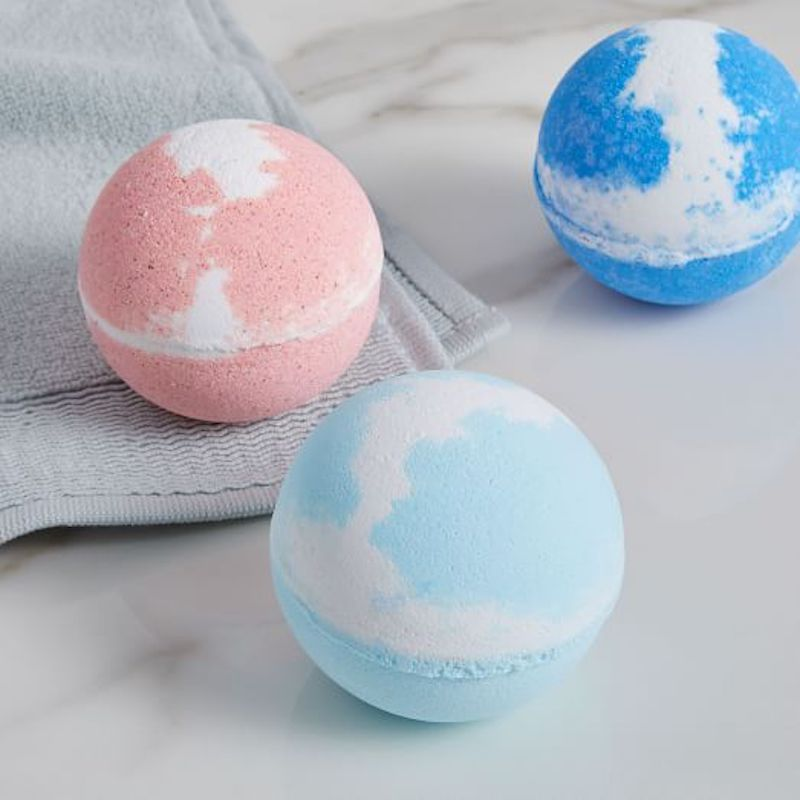 West Elm for Bathrooms: Water Street Colorful Scented Bath Bombs