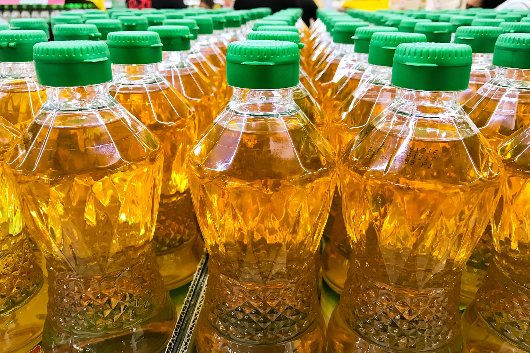 What are the most common foods with palm oil - palm oil bottles
