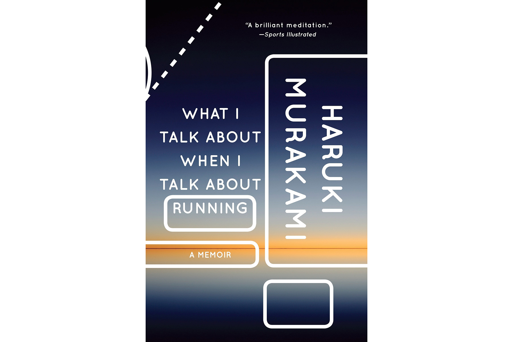 Cover of  What I Talk About When I Talk About Running, by Haruki Murakami