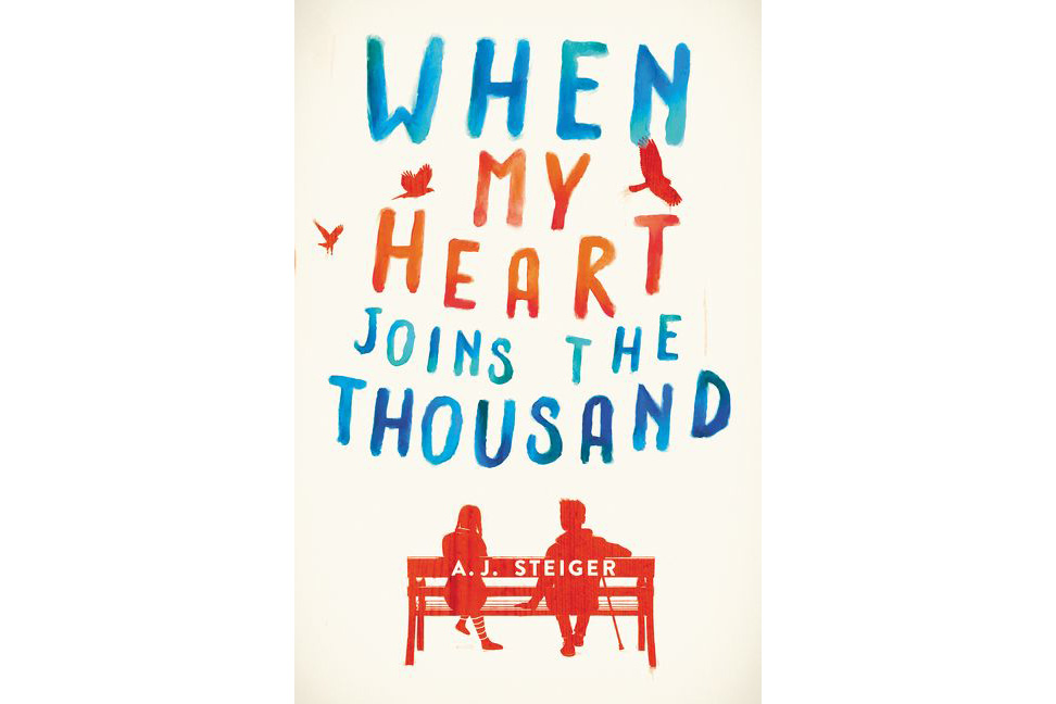When My Heart Joins the Thousand, by A. J. Steiger book cover