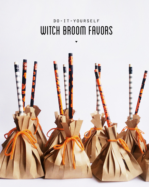 Witch Broom Favors
