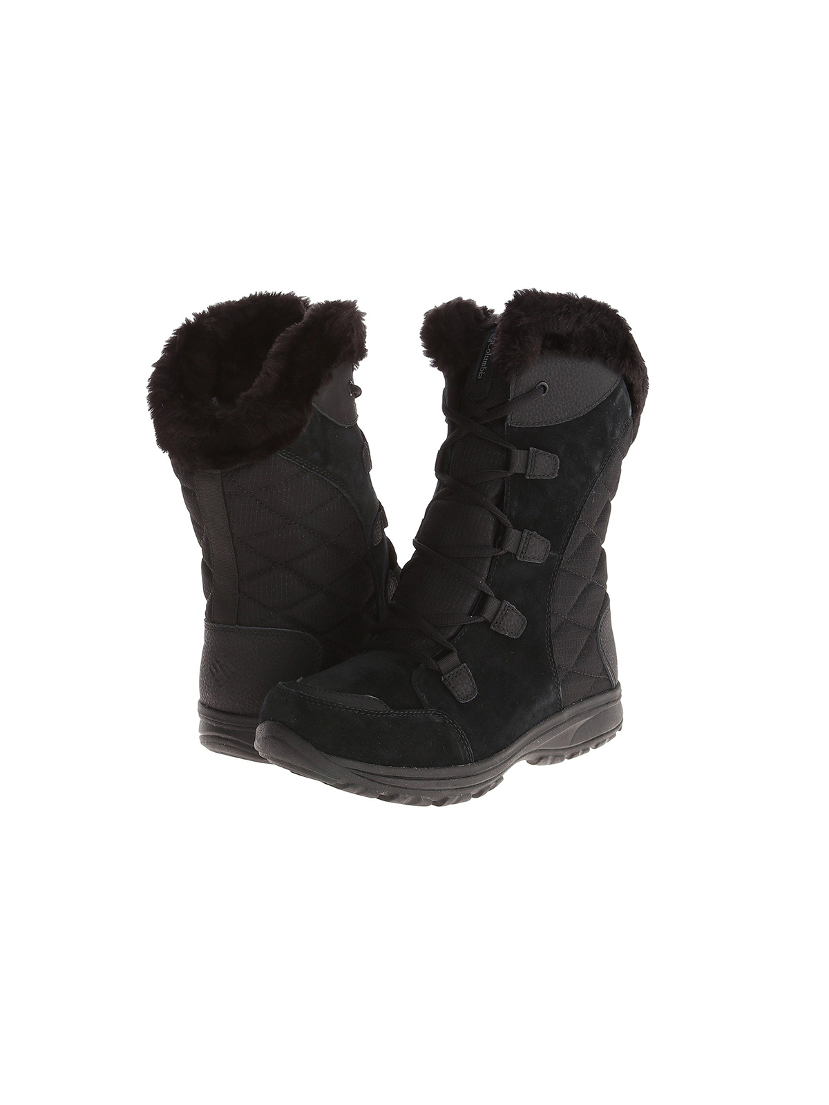 Columbia Ice Maiden black winter boots