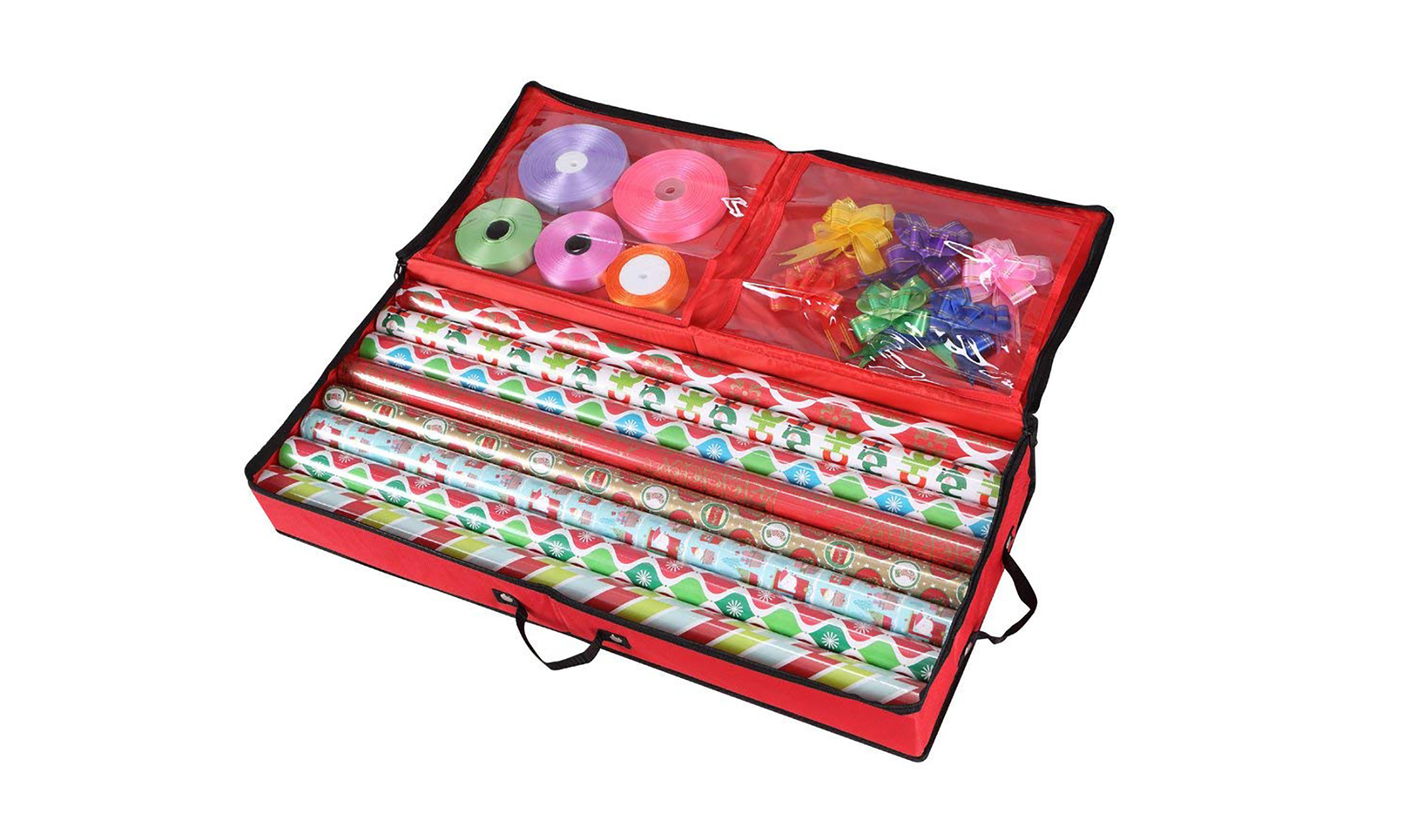 Primode 30-Inch Storage Organizer for Wrapping Paper