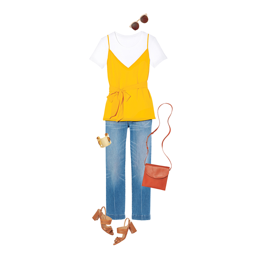 yellow-tank-plus-jeans-outfit