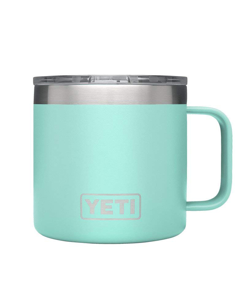 YETI Rambler Stainless Steel Vacuum Insulated Mug with Lid