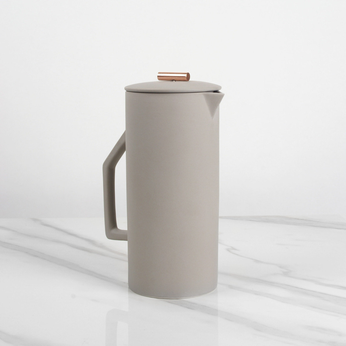 French Press in Gray