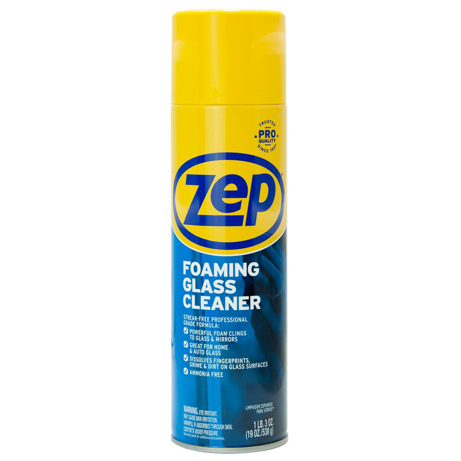 ZEP 19 oz. Foaming Glass Cleaner