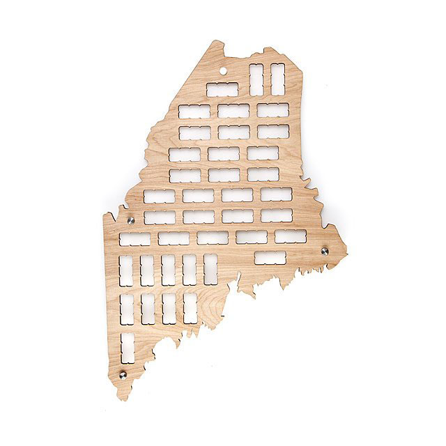 Gifts for dad - Wine Cork States (Maine)
