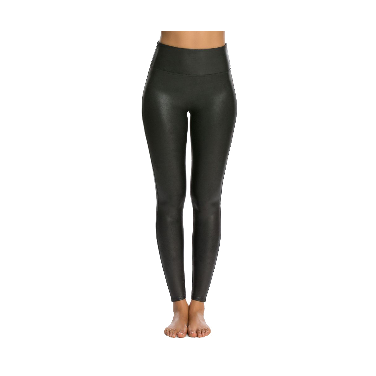 Best Faux Leather Option: Spanx Faux Leather Leggings