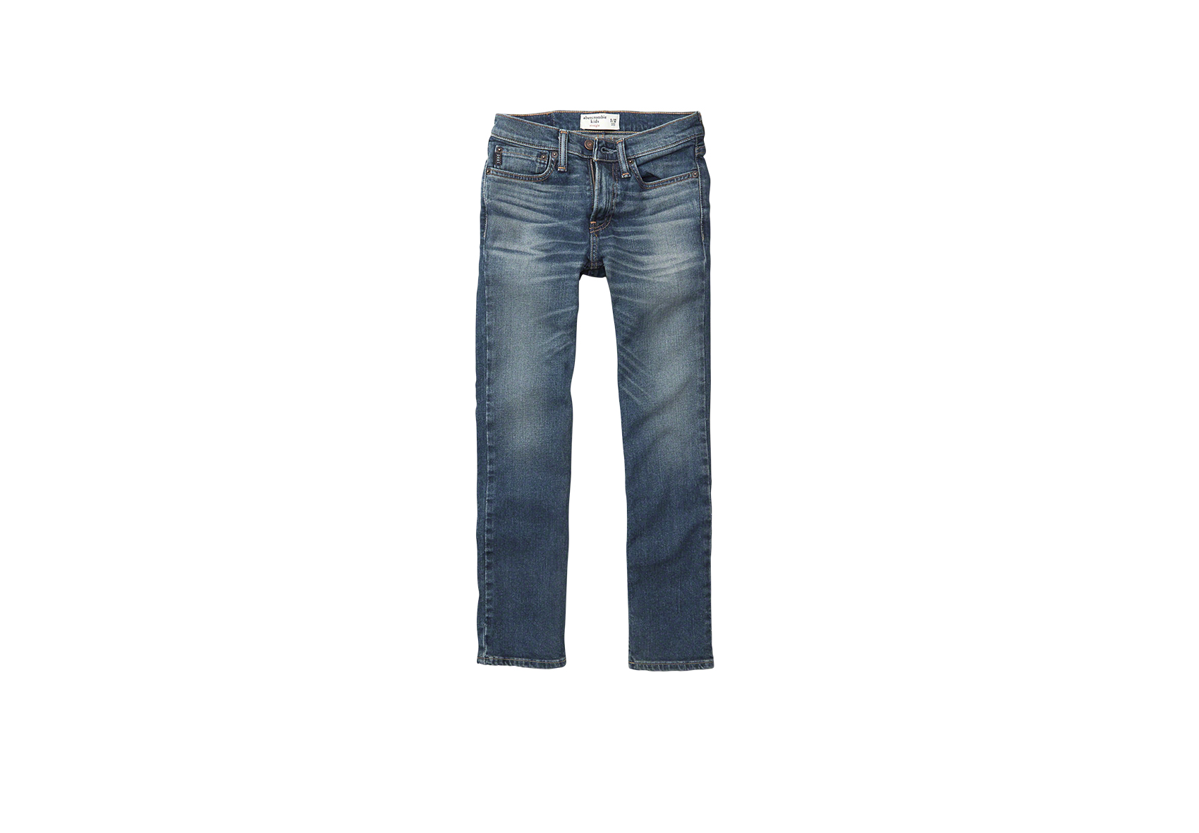 A&F Kids Boys' straight jeans