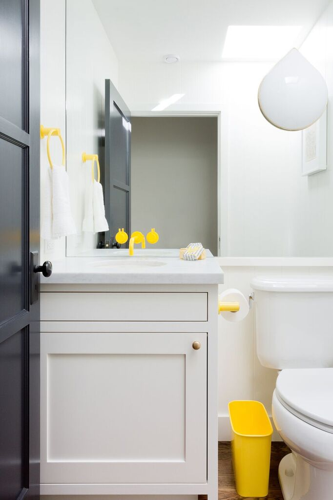 Yellow Bathroom Fixtures