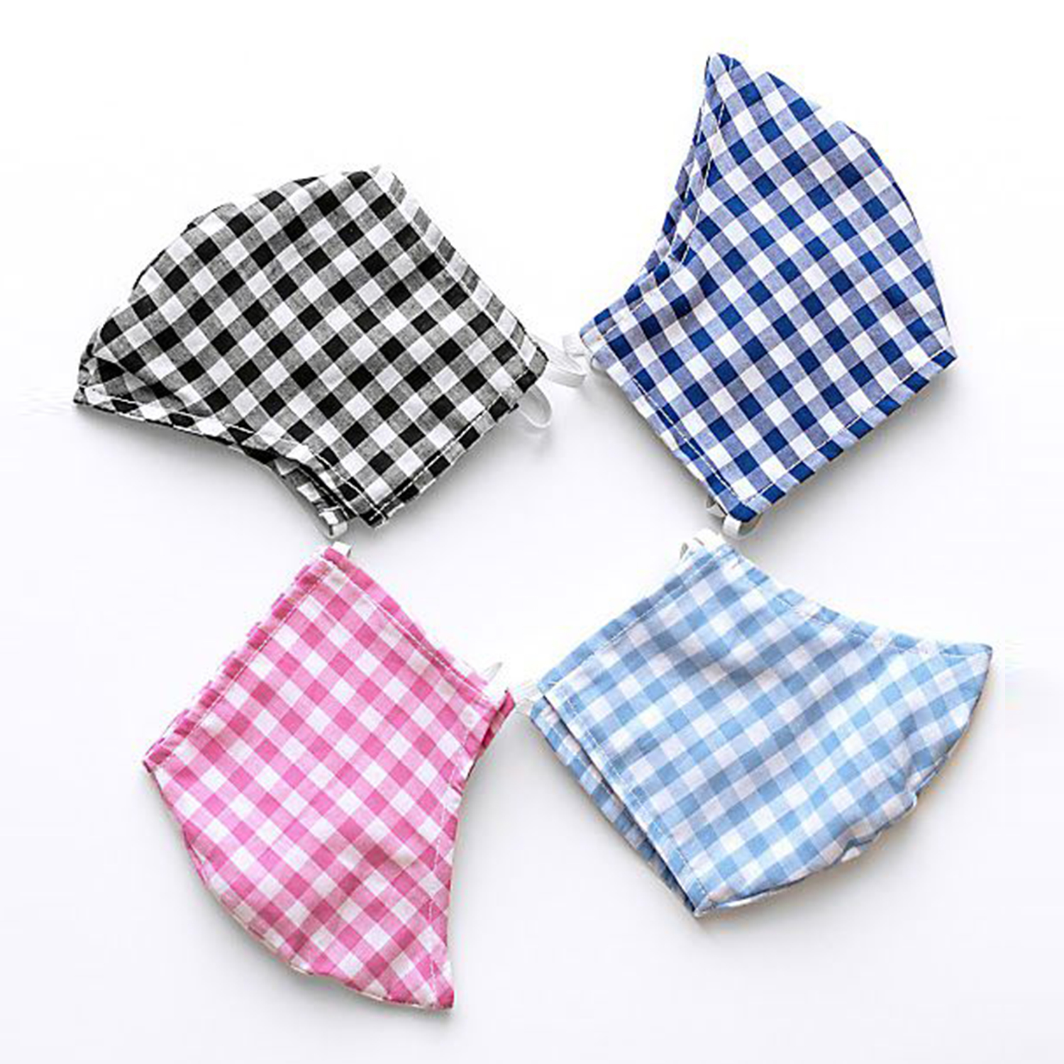 Anthropologie Amadi Gingham Reusable Face Mask