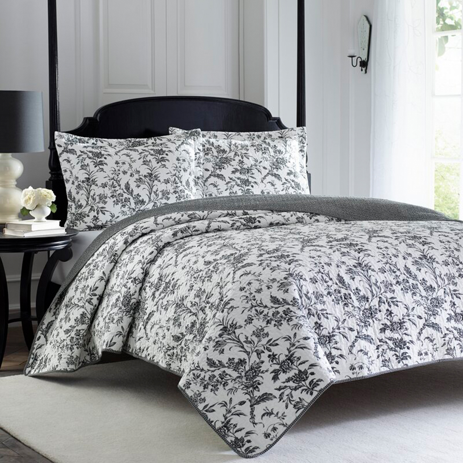 August Grove Amberley Reversible Quilt Set
