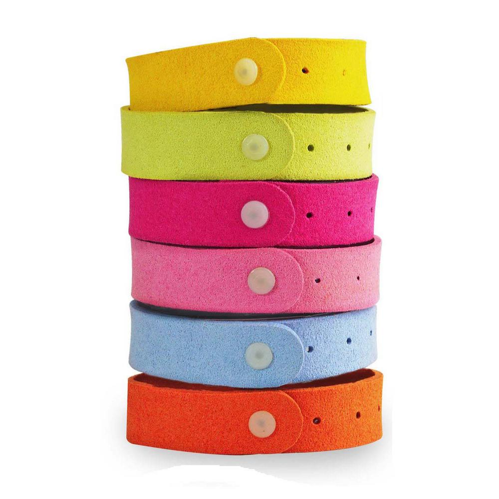 colorful Mosquito-Repelling Bracelets