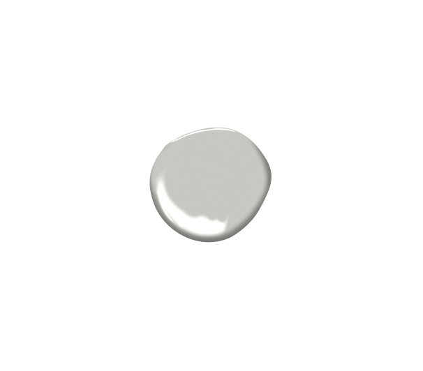 Interior Paint Colors for a Cleaner-Looking Home - Benjamin Moore Harbor Gray