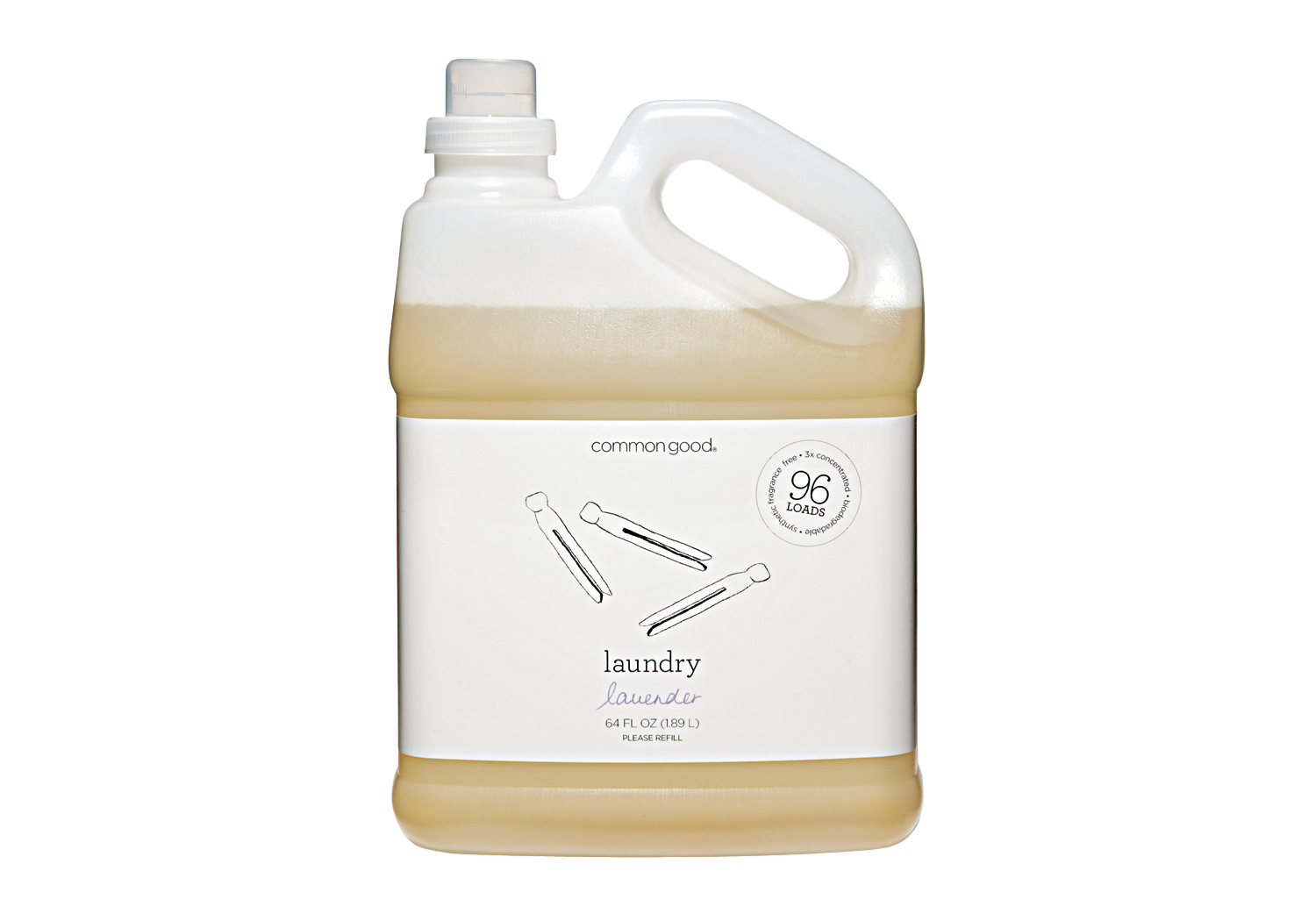 Common Good Laundry Detergent, Lavender