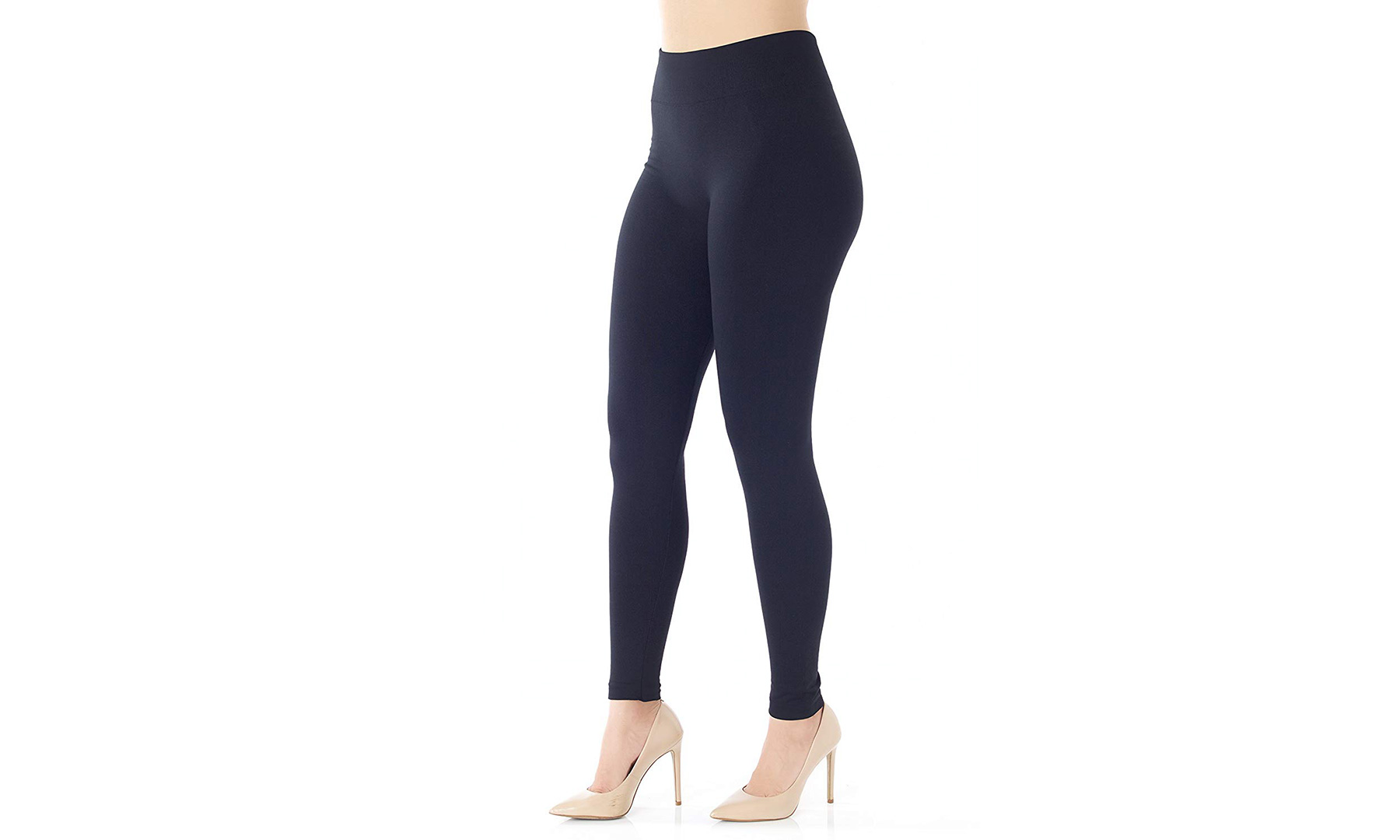 Conceited High Waist Fleece Lined Leggings