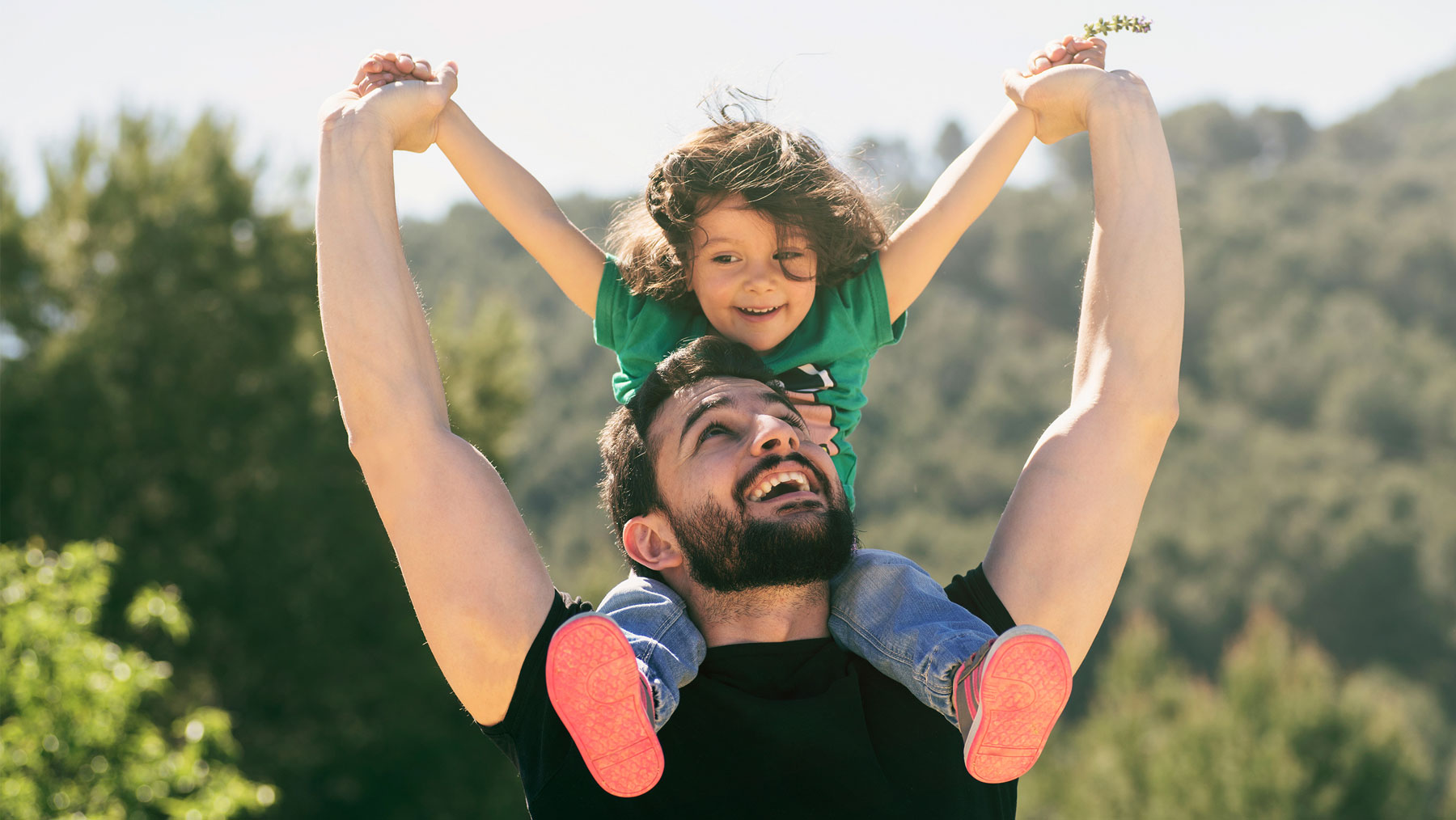 Father's Day activities and games - things to do on Father's Day (father and child)