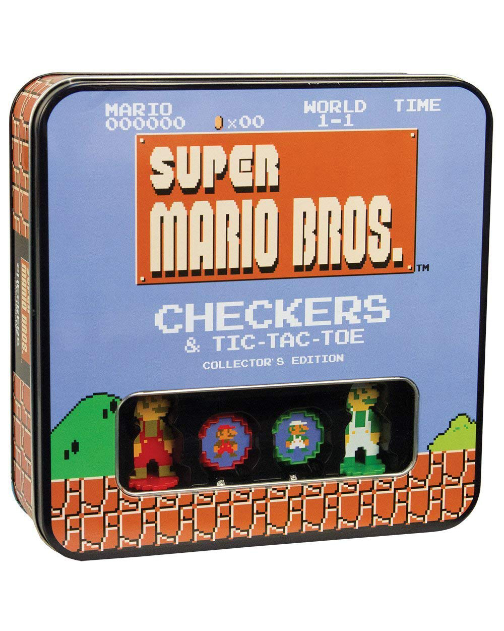 Super Mario Bros. Checker and Tic-Tac-Toe Collector's Edition Game gifts for boyfriend