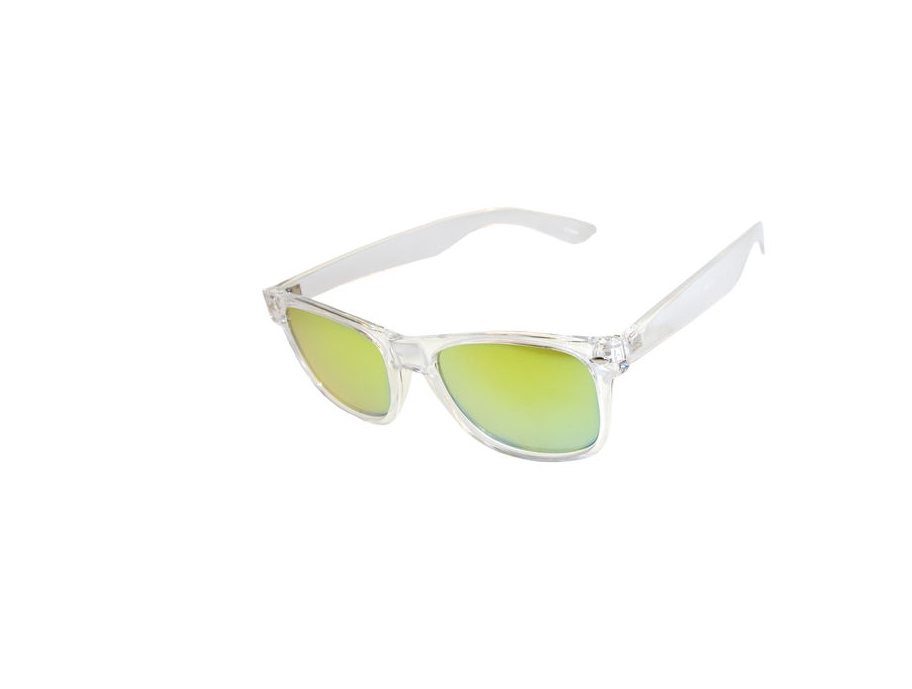 Girlprops Wayfarer-style sunglasses with mirrored lenses