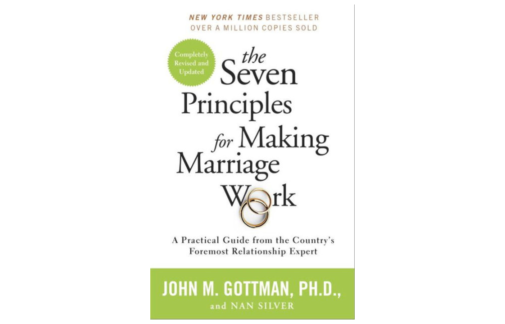 The Seven Principles for Making Marriage Work, by John Gottman, Ph.D.
