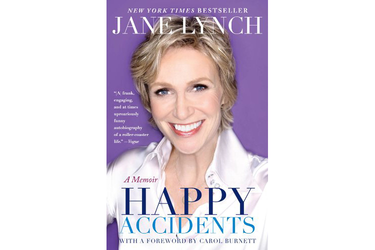 Cover of Happy Accidents, by Jane Lynch