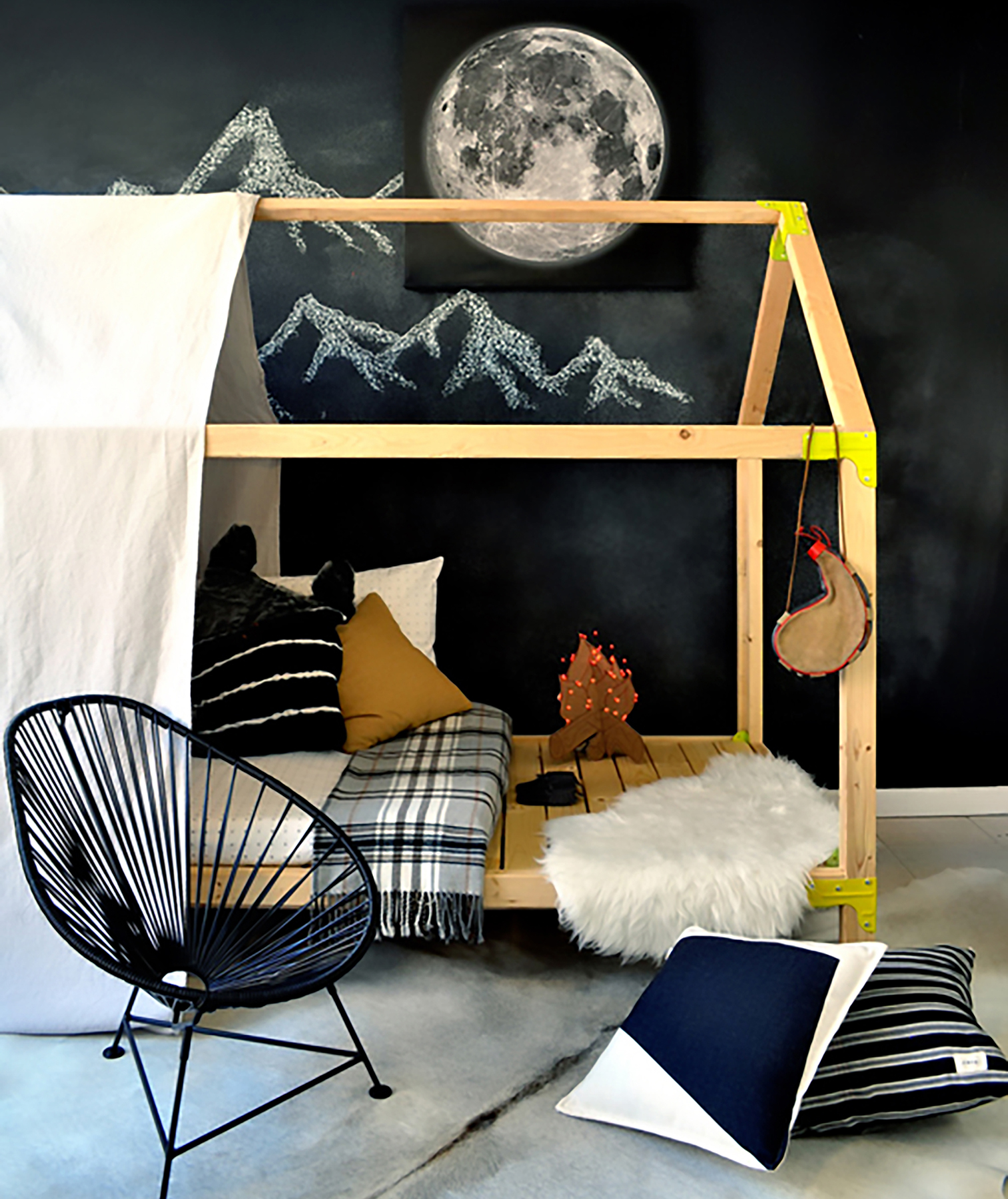 Rayan of The Design Confidential: House Bed Playhouse