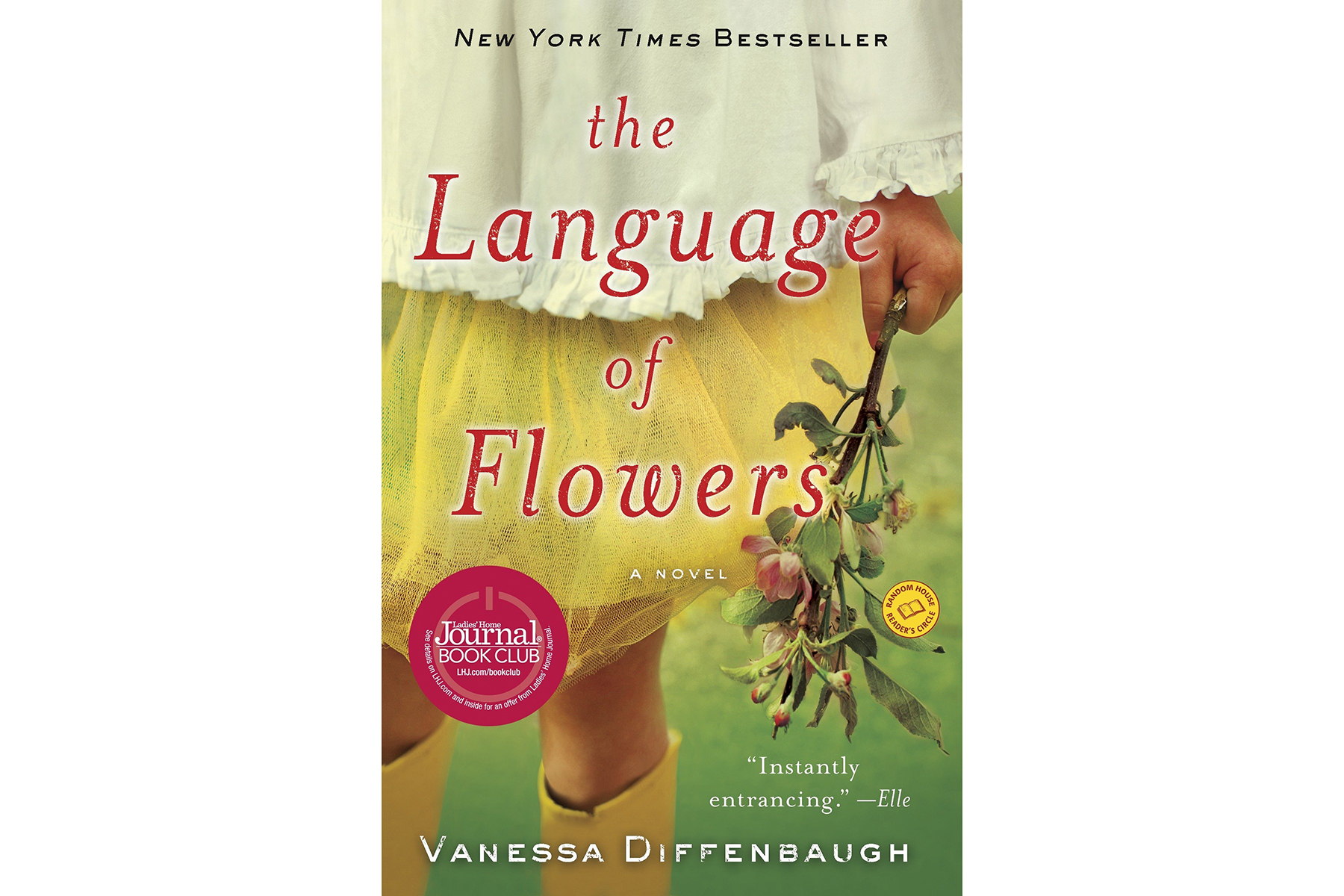 Cover of The Language of Flowers, by Vanessa Diffenbaugh