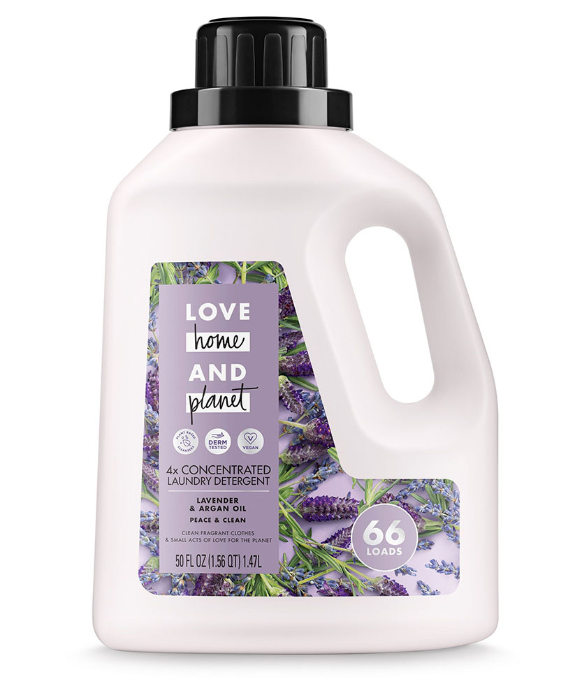 Love Home and Planet Concentrated Laundry Detergent