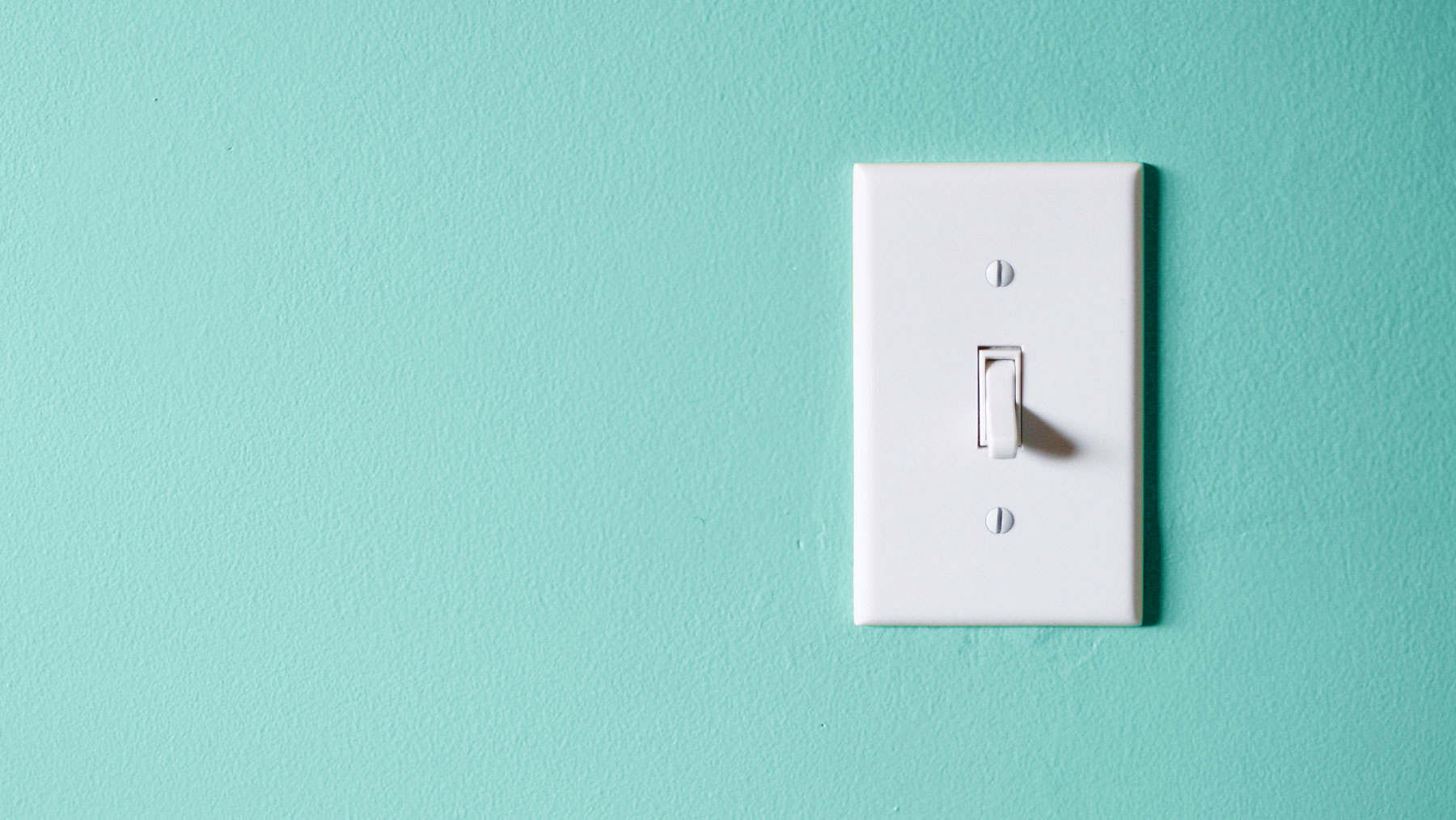 Lower utility bills and costs during quarantine - tips (light switch)