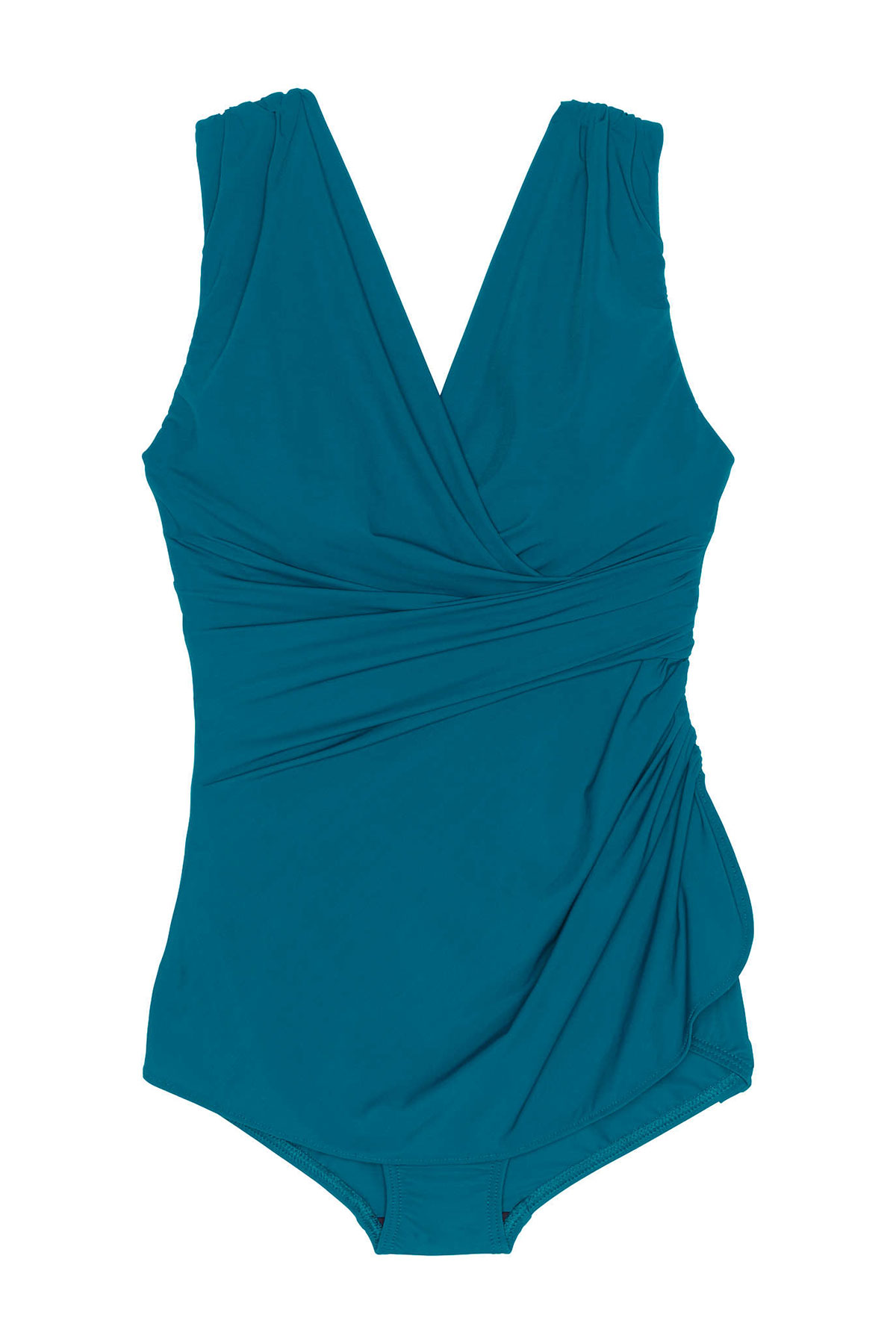 Lands' End Slender Tunic One-Piece Swimsuit
