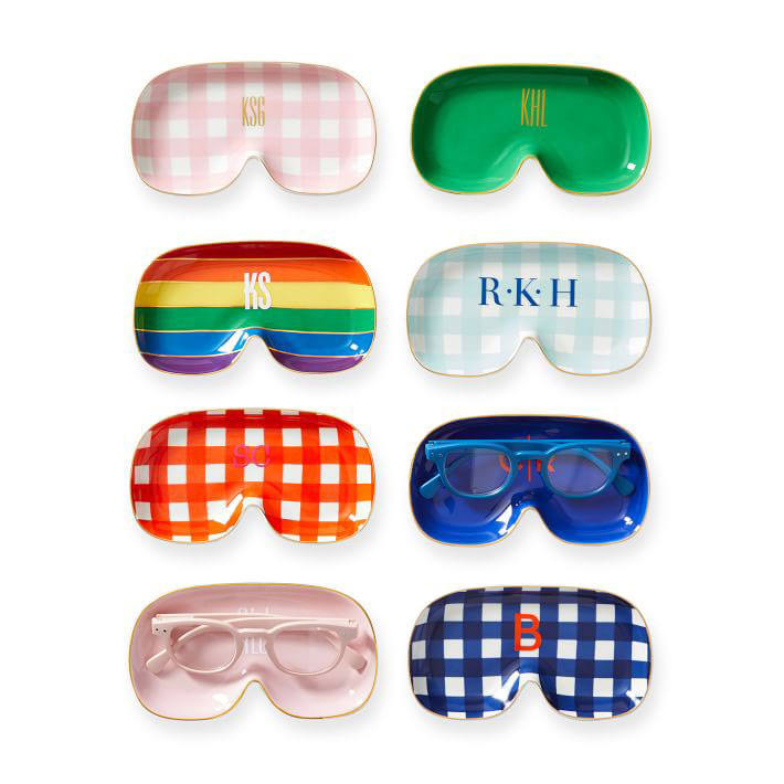 Mother's Day gifts - Iris catchall glasses tray