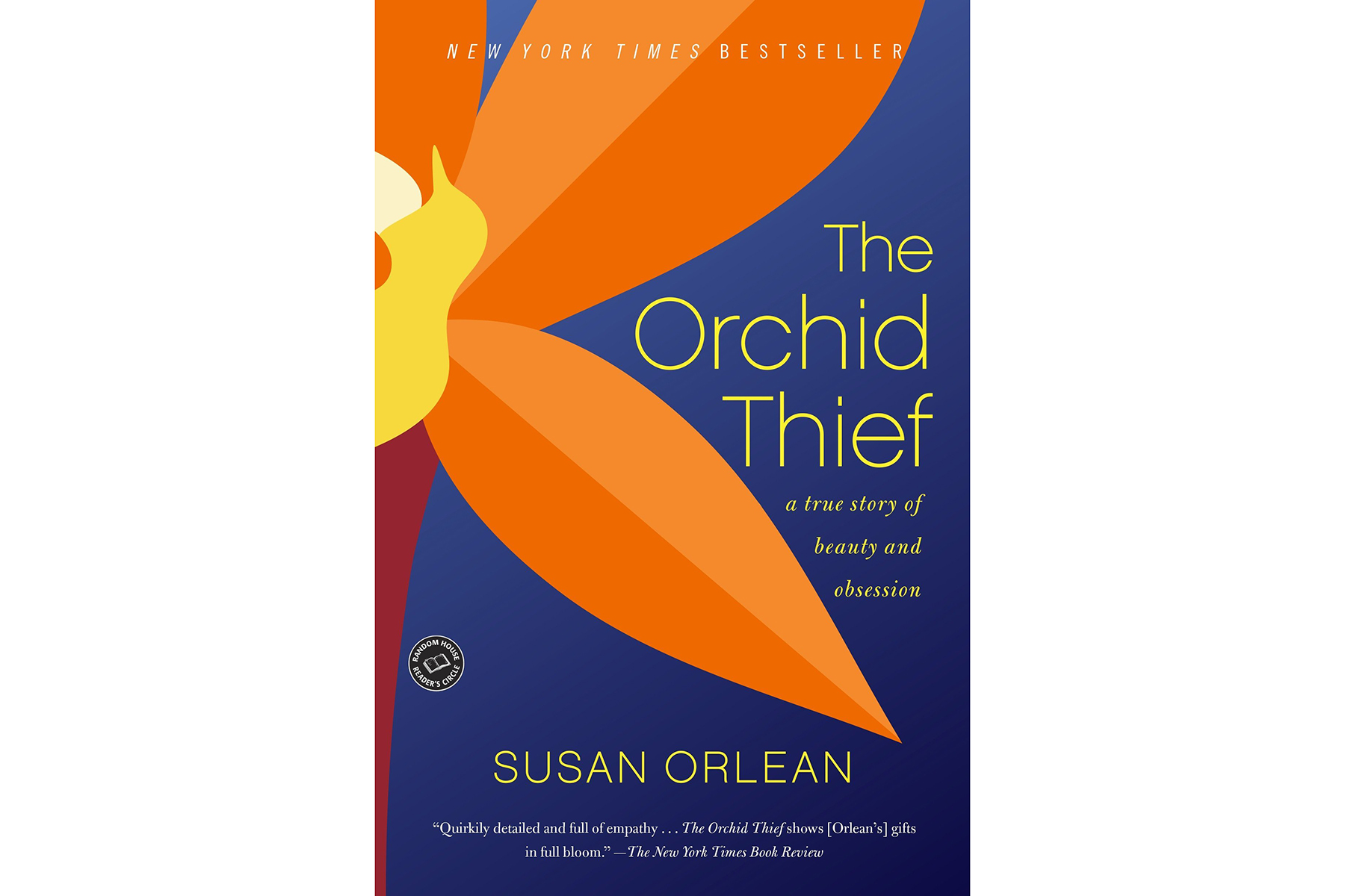 Cover of The Orchid Thief, by Susan Orlean