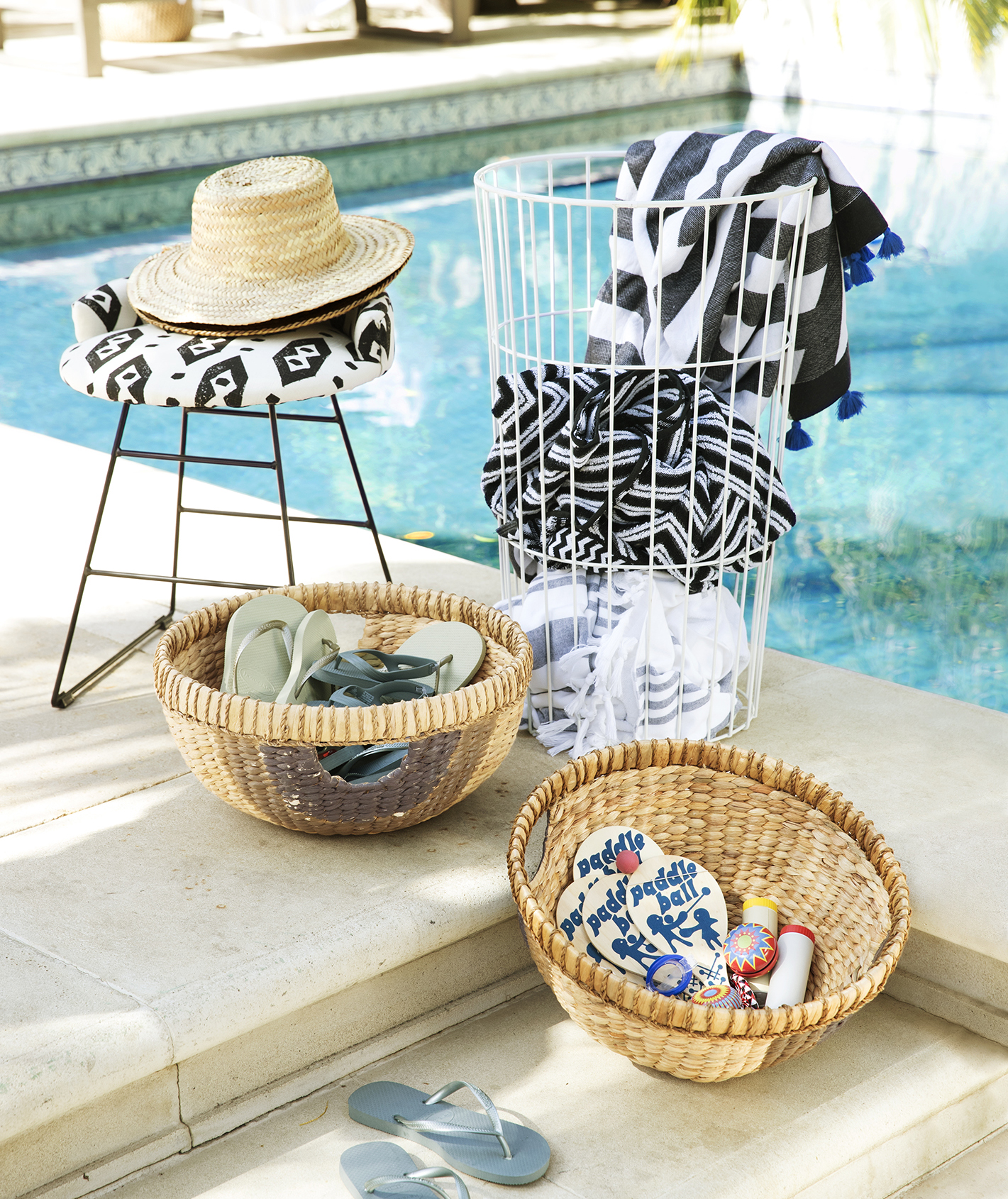 Poolside accessories