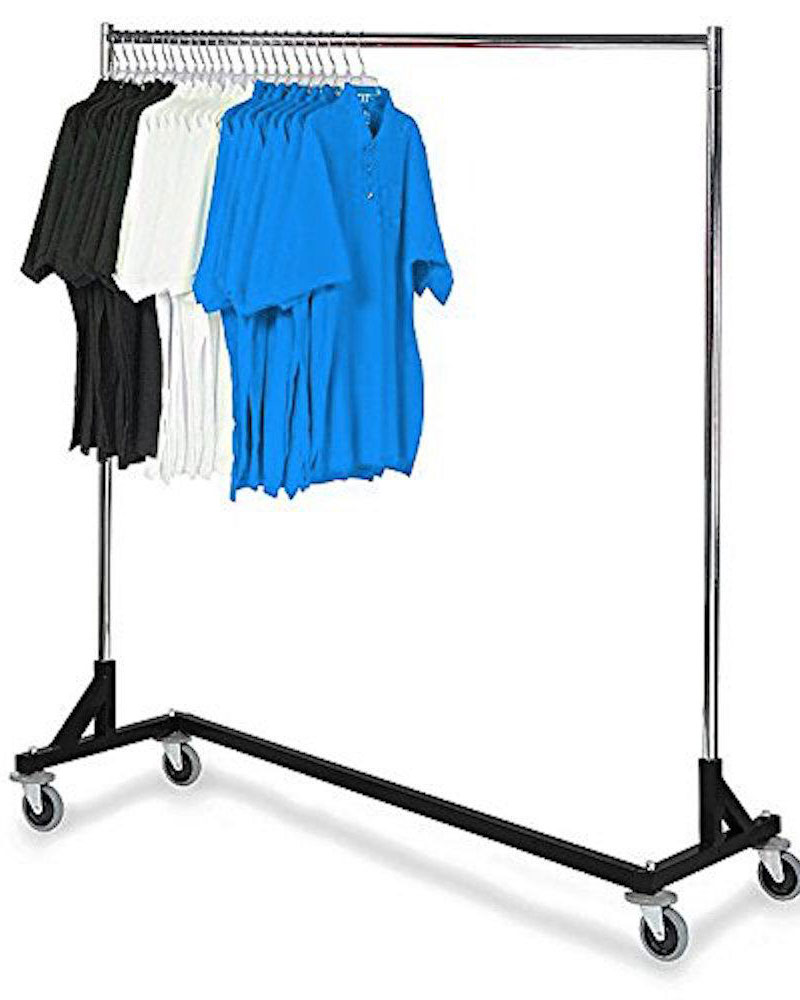 Only Hangers Industrial Strength Black Z Rack