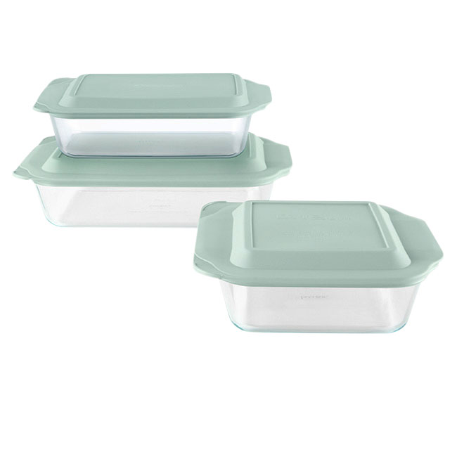 Problem Solvers: Pyrex Deep Glass Baking Dish Set