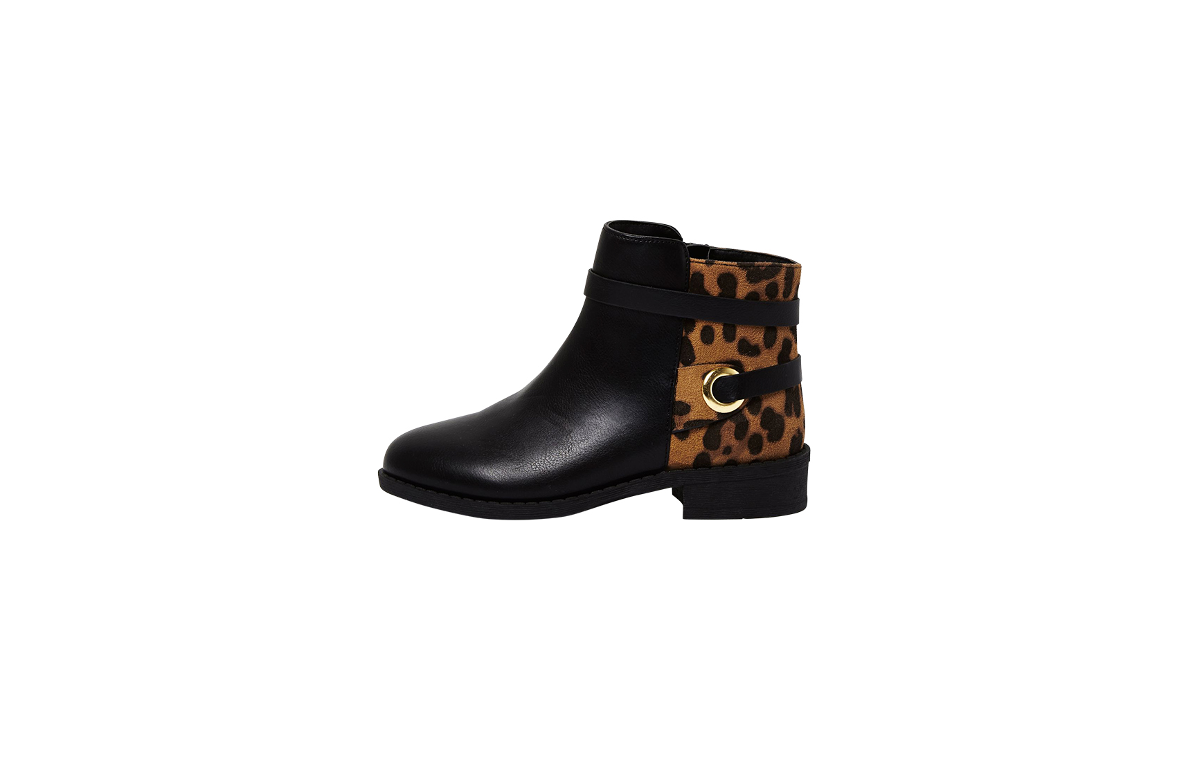 River Island Girl's animal print ankle boots