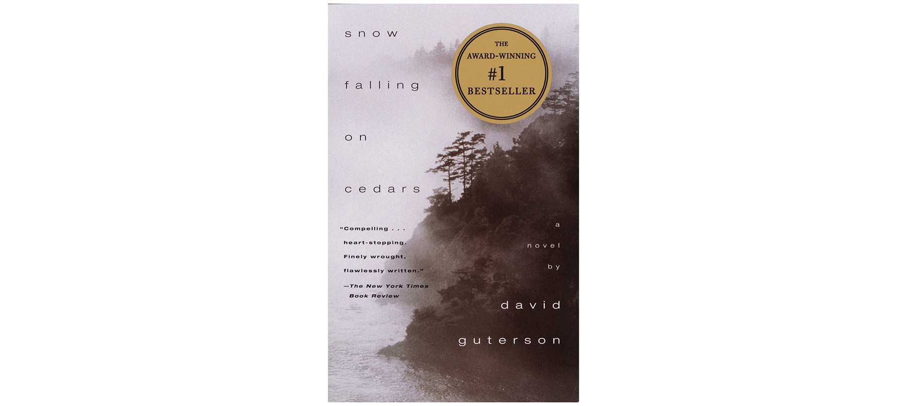 Cover of Snow Falling on Cedars, by David Guterson