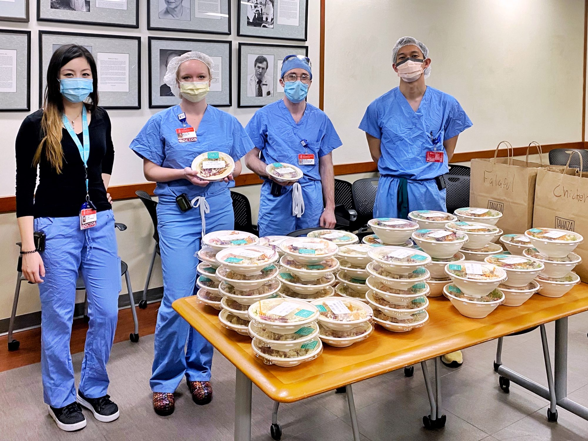 Catering Service Is Donating Free Catering to Hospital Workers