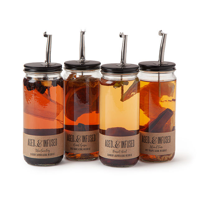 Father's Day gifts, ideas - Alcohol infusing kit