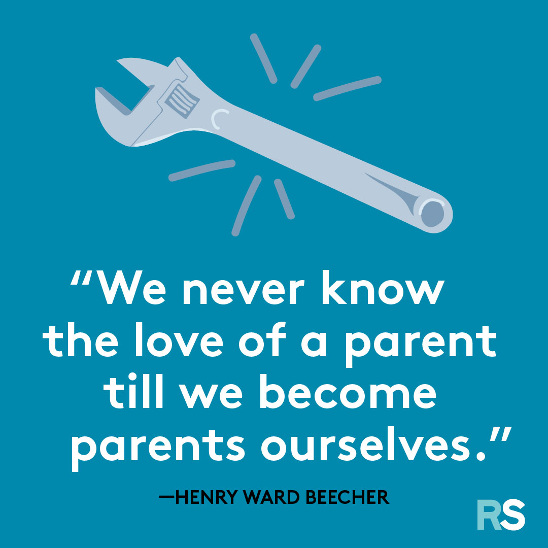 Father's Day dad quotes, captions – henry ward beecher