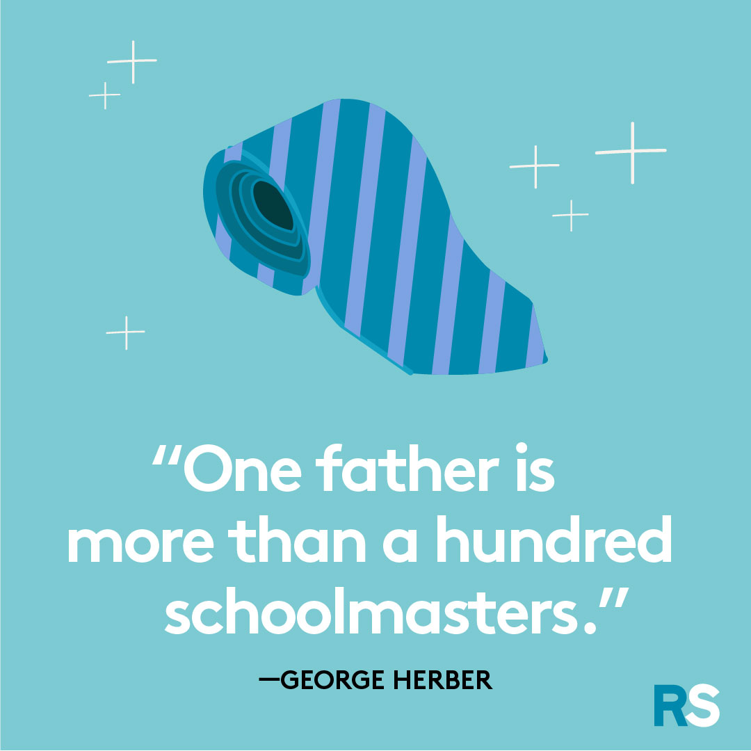 Father's Day dad quotes, captions – george herber