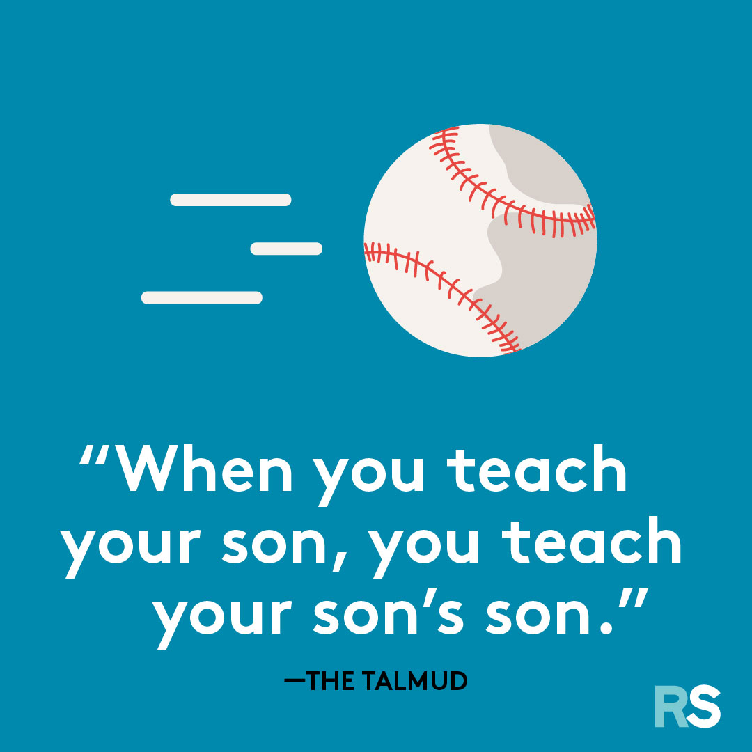 Father's Day dad quotes, captions – Talmud
