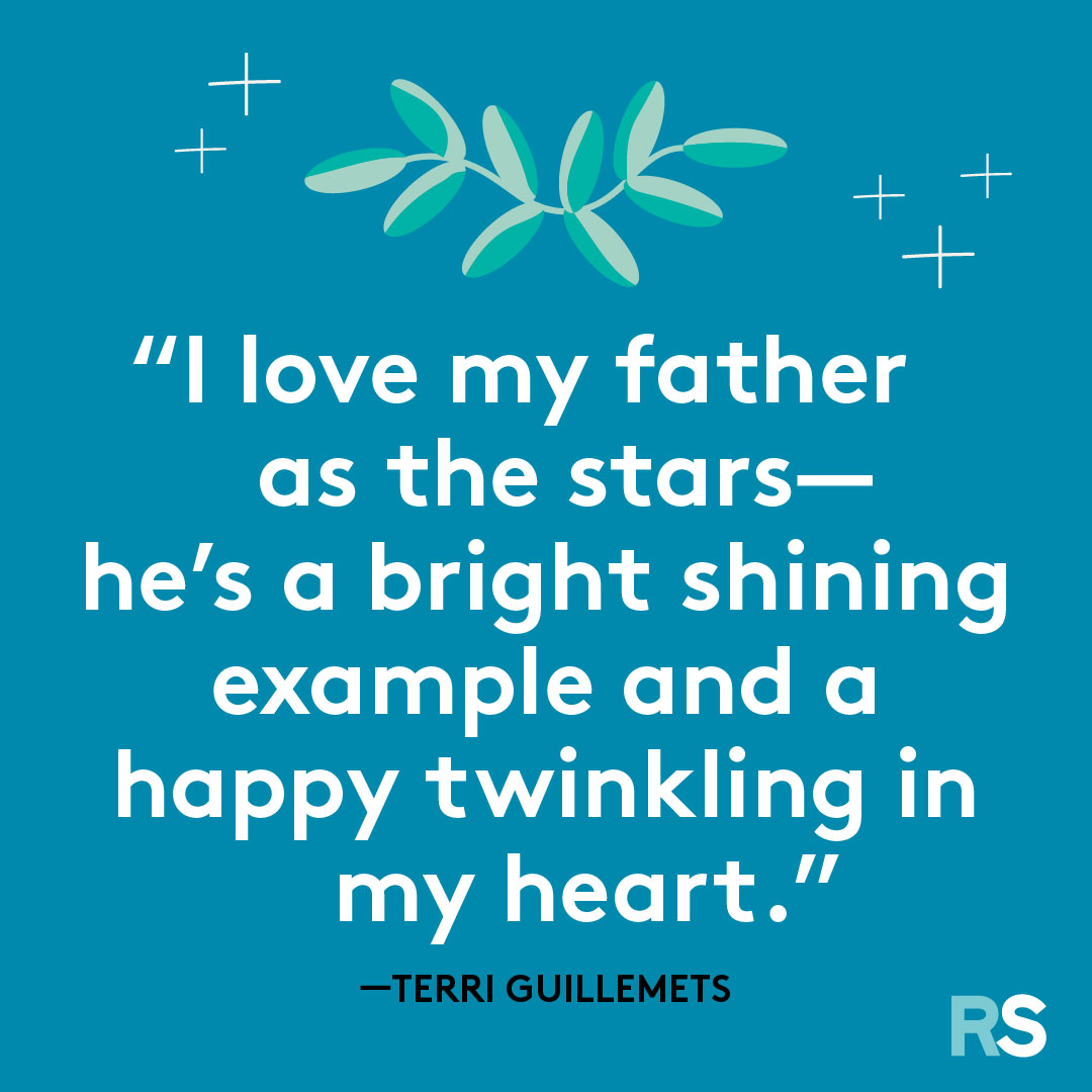 Father's Day dad quotes, captions – Terri G