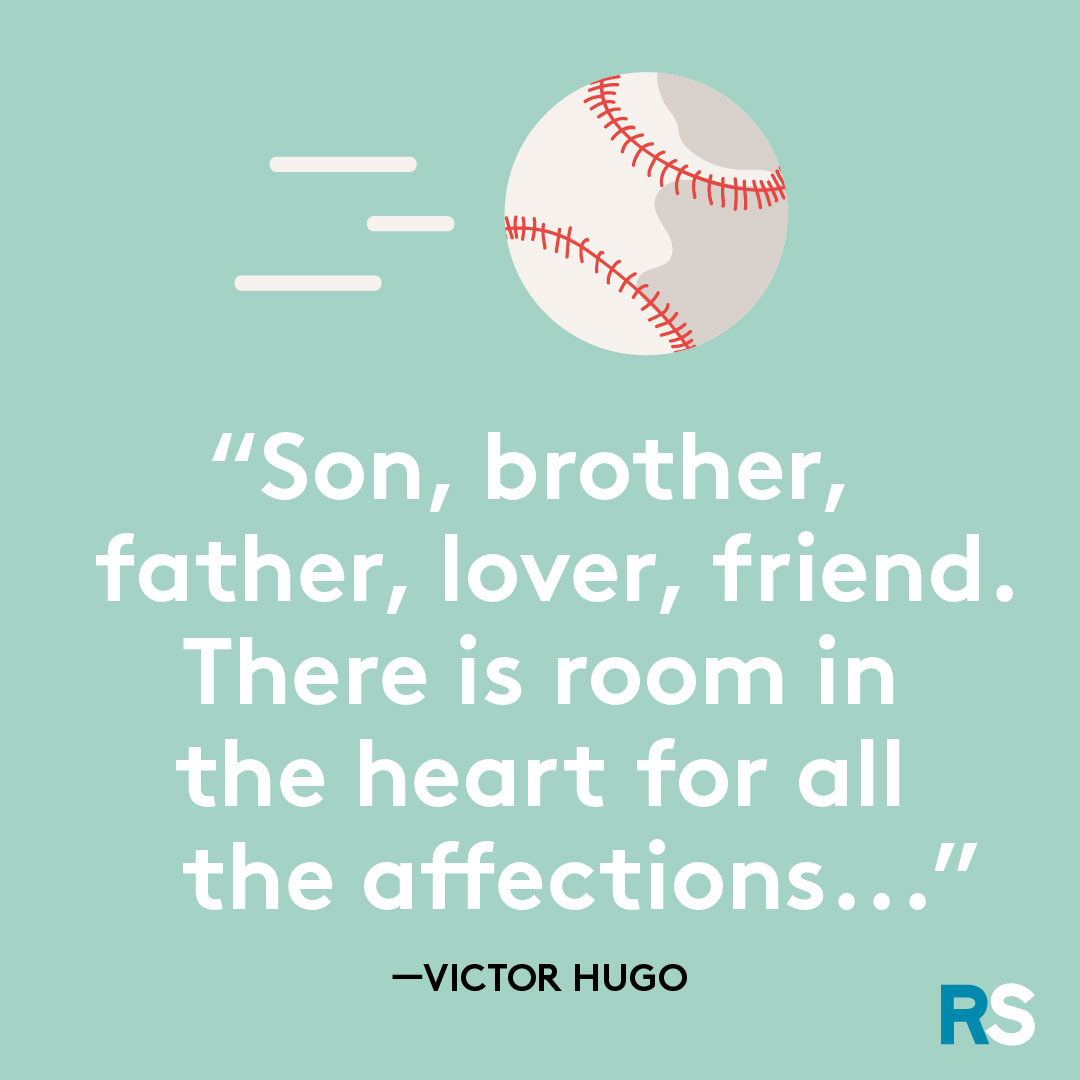 Father's Day dad quotes, captions – Victor Hugo