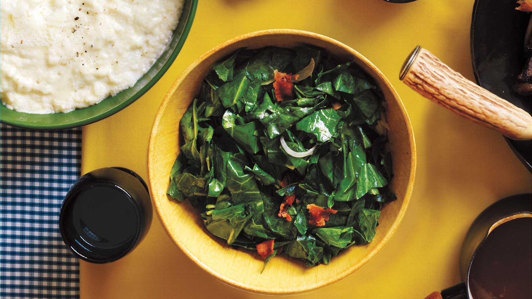 BBQ side dishes - barbecue sides for pulled pork, brisket, and more (collards)