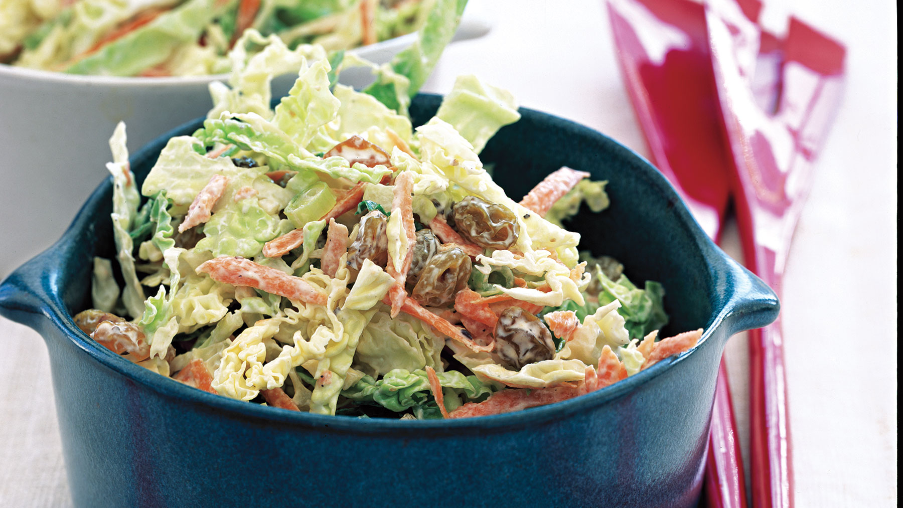 Coleslaw With Caraway and Raisins