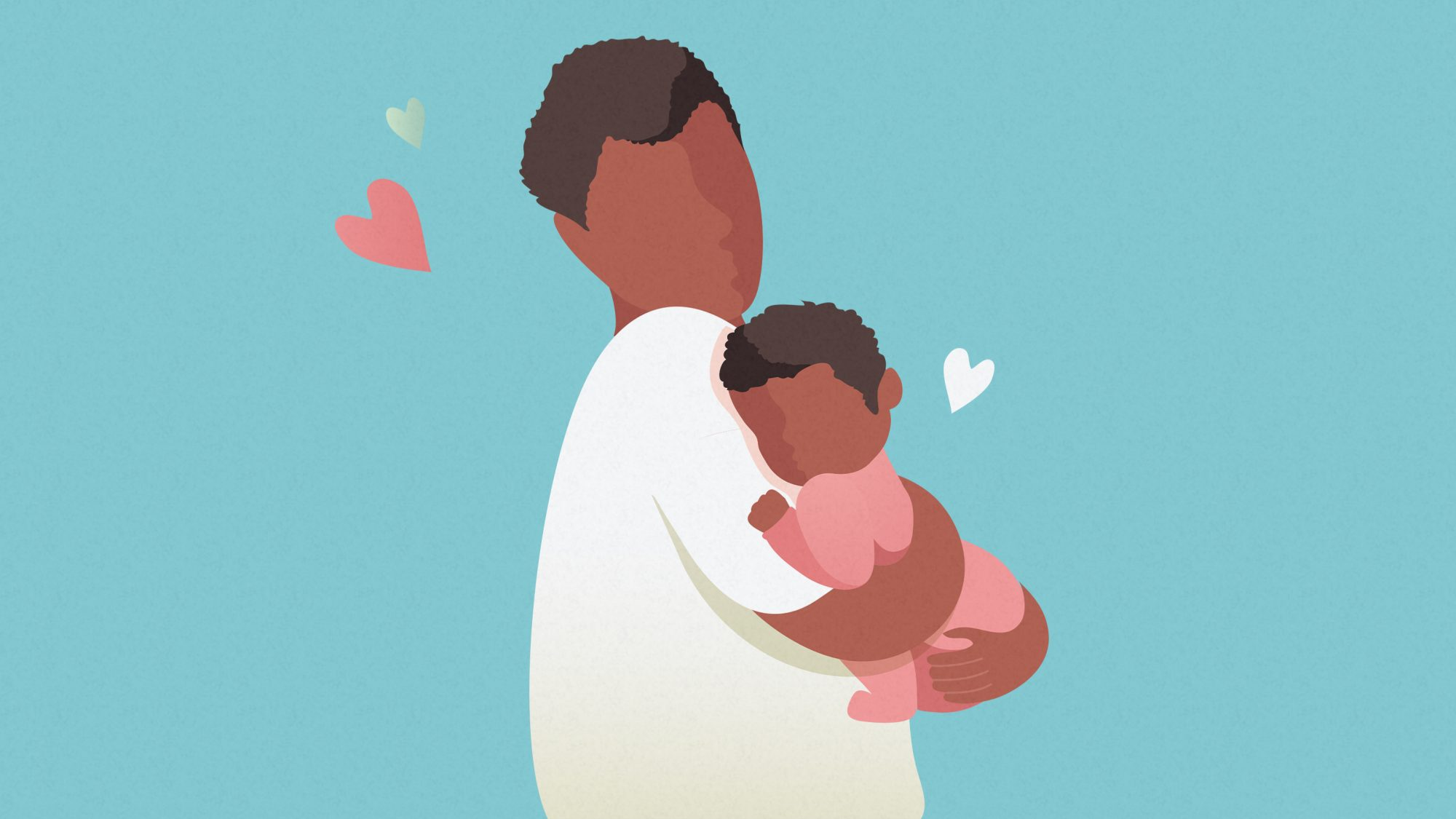 Father's day quotes - dad quotes for new dads (new dad and baby)